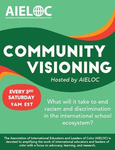 anti-racism in international education - AIELOC Community Visioning