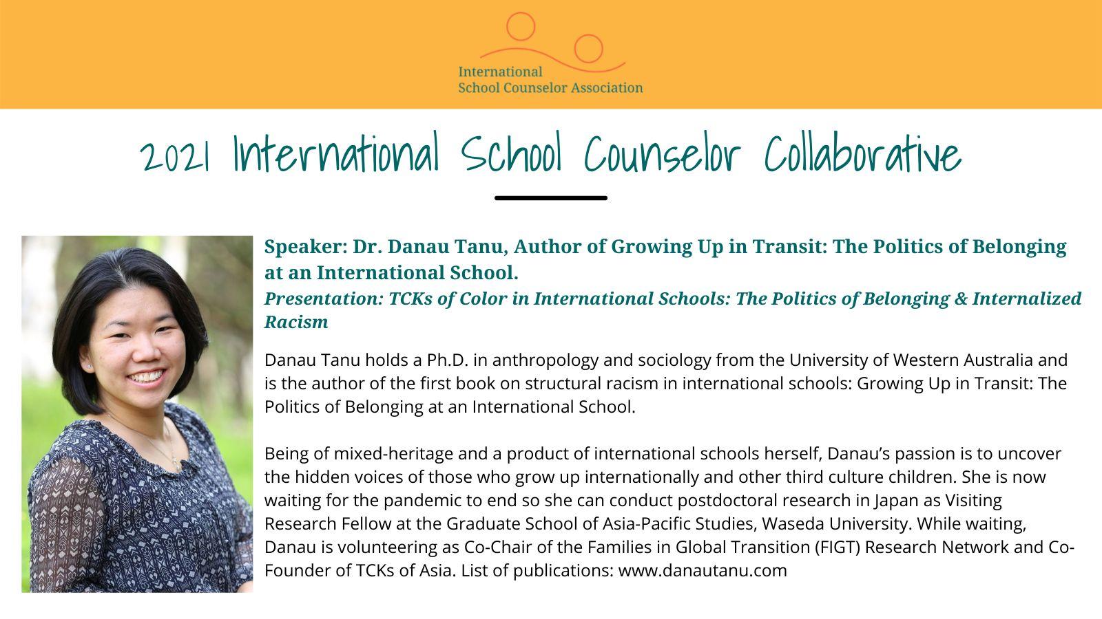 TCKs of Color - ISCA Collaborative poster